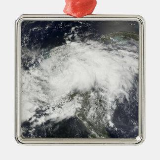 Tropical Storm Arthur Metal Ornament