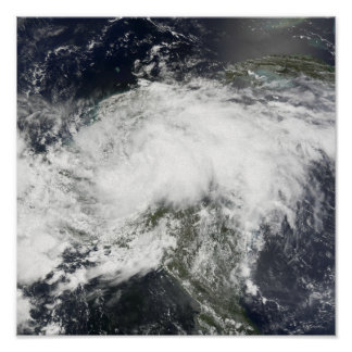 Tropical Storm Arthur Poster