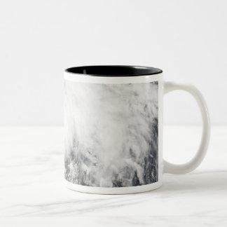 Tropical Storm Arthur Two-Tone Coffee Mug