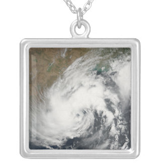Tropical Storm Bijli Silver Plated Necklace