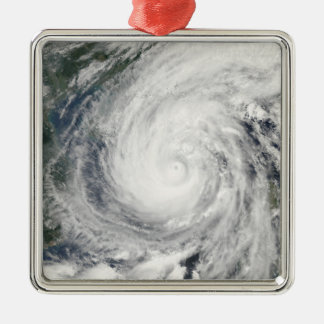 Tropical Storm Chanchu Metal Ornament