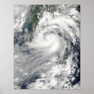 Tropical Storm Chanthu Poster