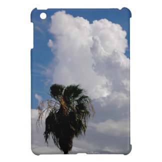 Tropical storm clouds Palm Tree iPad Mini Case