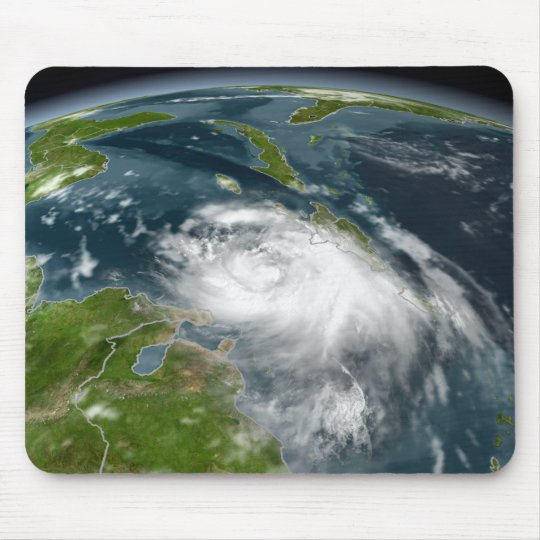 Tropical Storm Dennis Mouse Pad