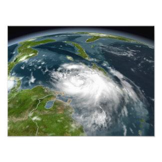 Tropical Storm Dennis Photo Print