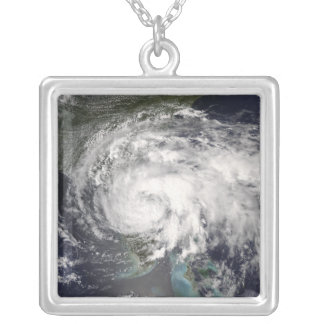 Tropical Storm Fay 4 Silver Plated Necklace