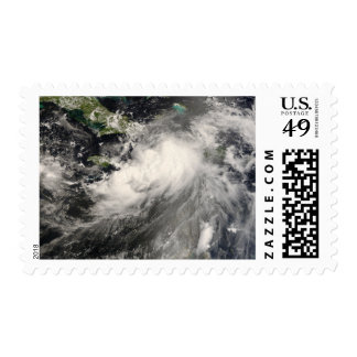 Tropical Storm Gustav in the Caribbean Sea Postage Stamp