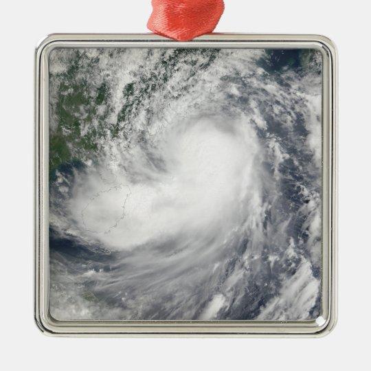 Tropical Storm Hagupit Metal Ornament