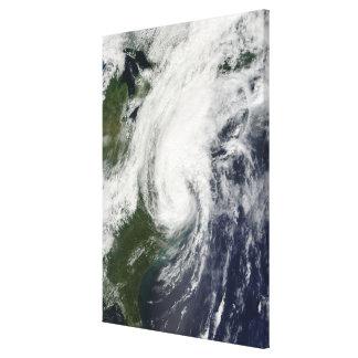 Tropical Storm Hanna over the East Coast 2 Canvas Print