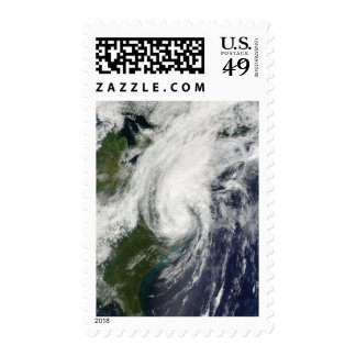 Tropical Storm Hanna over the East Coast 2 Stamps