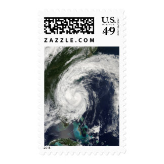 Tropical Storm Hanna over the East Coast Postage Stamps