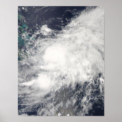 Tropical Storm Hanna Poster