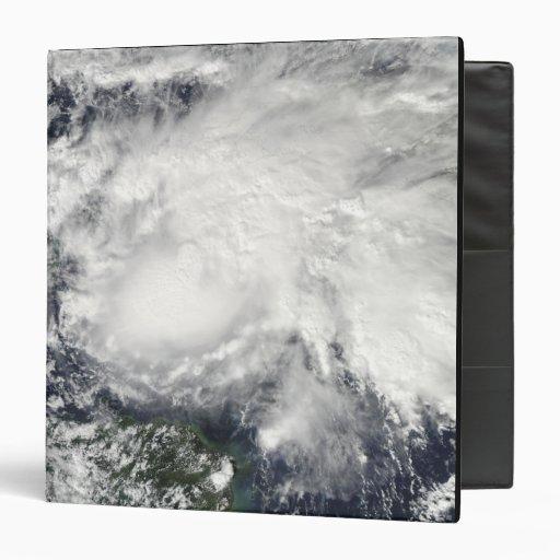 Tropical Storm Ida in the Caribbean Sea 3 Ring Binders