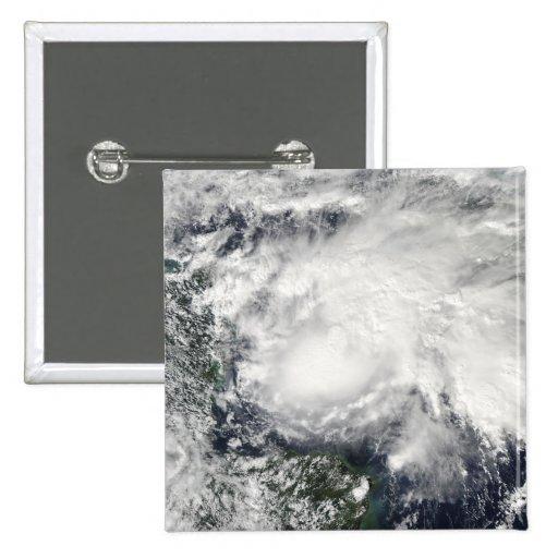 Tropical Storm Ida in the Caribbean Sea 2 Inch Square Button