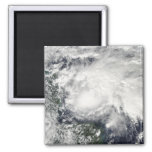 Tropical Storm Ida in the Caribbean Sea 2 Inch Square Magnet