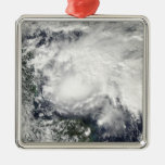 Tropical Storm Ida in the Caribbean Sea Metal Ornament