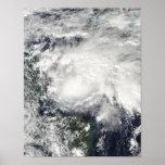 Tropical Storm Ida in the Caribbean Sea Print