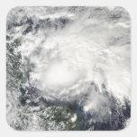 Tropical Storm Ida in the Caribbean Sea Square Sticker