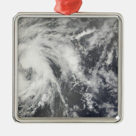 Tropical Storm Josephine Metal Ornament