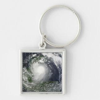 Tropical Storm Karl over the Yucatan Peninsula Keychain