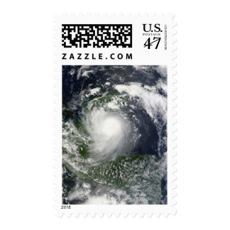 Tropical Storm Karl over the Yucatan Peninsula Postage