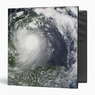 Tropical Storm Karl over the Yucatan Peninsula Vinyl Binder