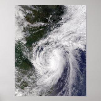 Tropical Storm Mekkhala Print