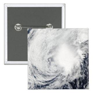 Tropical Storm Nida southeast of Kadena Pinback Button