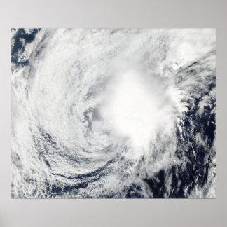 Tropical Storm Nida southeast of Kadena Poster