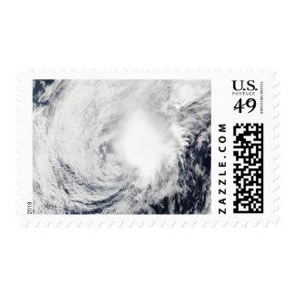 Tropical Storm Nida southeast of Kadena Stamp
