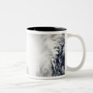 Tropical Storm Nida southeast of Kadena Two-Tone Coffee Mug