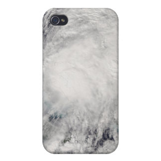 Tropical Storm Noel over the Bahamas iPhone 4 Cover
