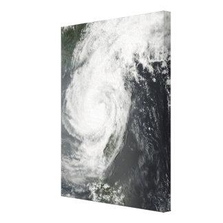 Tropical Storm Parm Stretched Canvas Prints