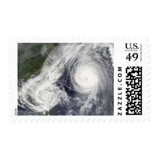 Tropical Storm Parma and Super Typhoon Melor Stamps