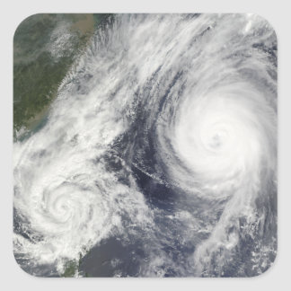 Tropical Storm Parma and Super Typhoon Melor Stickers