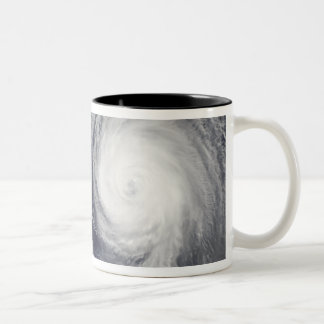 Tropical Storm Parma and Super Typhoon Melor Two-Tone Coffee Mug