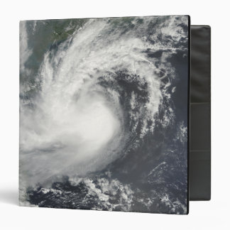 Tropical Storm Parma approaching China and Viet 3 Ring Binder