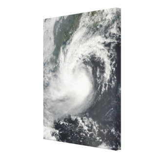 Tropical Storm Parma approaching China and Viet Stretched Canvas Prints