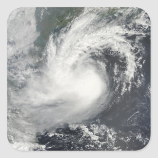 Tropical Storm Parma approaching China and Viet Square Sticker