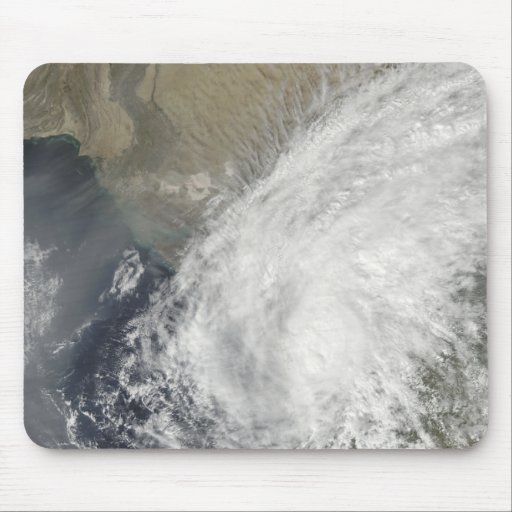 Tropical Storm Phyan Mouse Pad