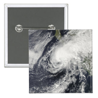 Tropical Storm Rick approaching Mexico 2 Inch Square Button