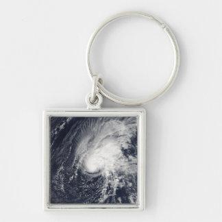Tropical Storm Zeta Keychain