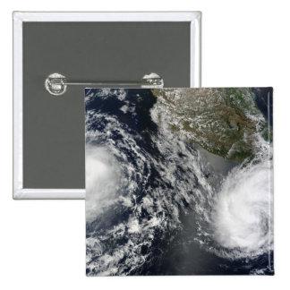 Tropical Storms Blas and Celia Pinback Button