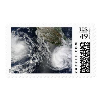Tropical Storms Blas and Celia Postage