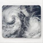 Tropical storms Boris and Cristina Mouse Pad