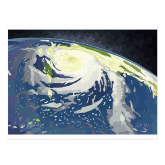 Tropical storms postcard
