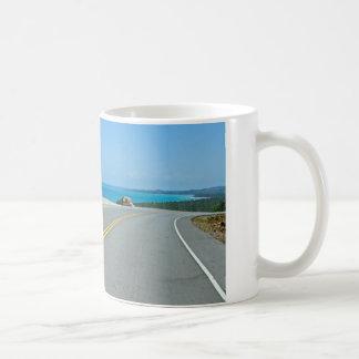 tropical street coffee mug