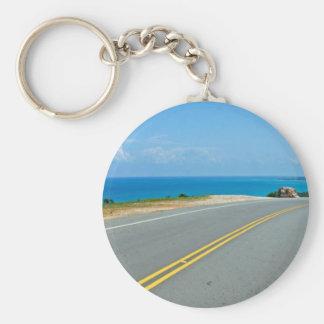 tropical street key chains