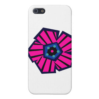 Tropical Striped Flower No1 iPhone SE/5/5s Case