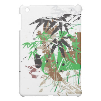 tropical style abstract bamboo design case for the iPad mini